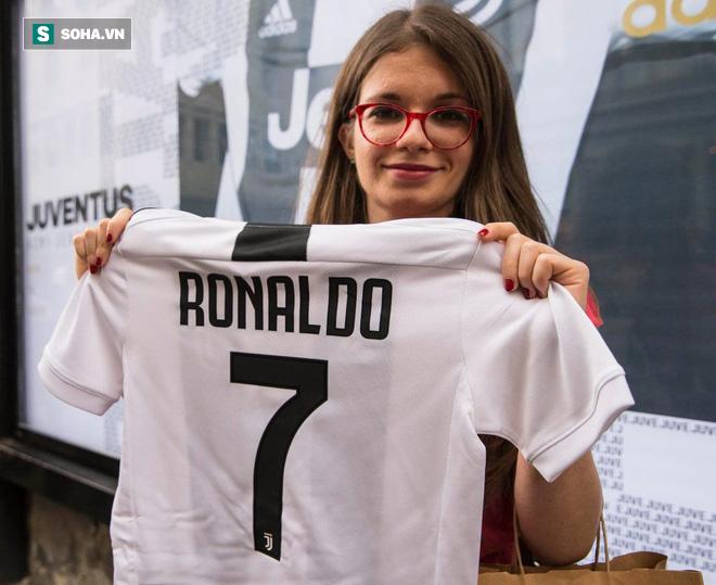 Bất ngờ với người thay Ronaldo gánh nhiệm vụ bán áo cho Real Madrid - Ảnh 1.