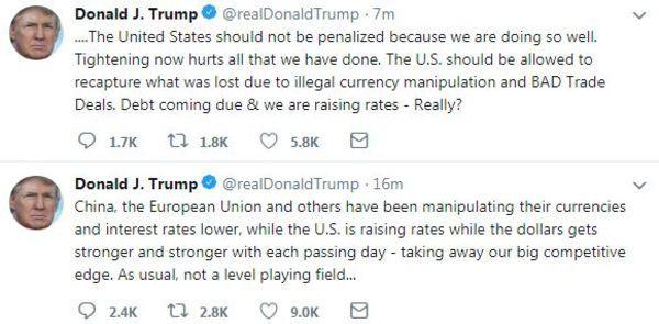 Ông Trump chỉ đích danh Trung Quốc và EU thao túng tỷ giá, chiến tranh thương mại sẽ trở thành chiến tranh tiền tệ?  - Ảnh 1.