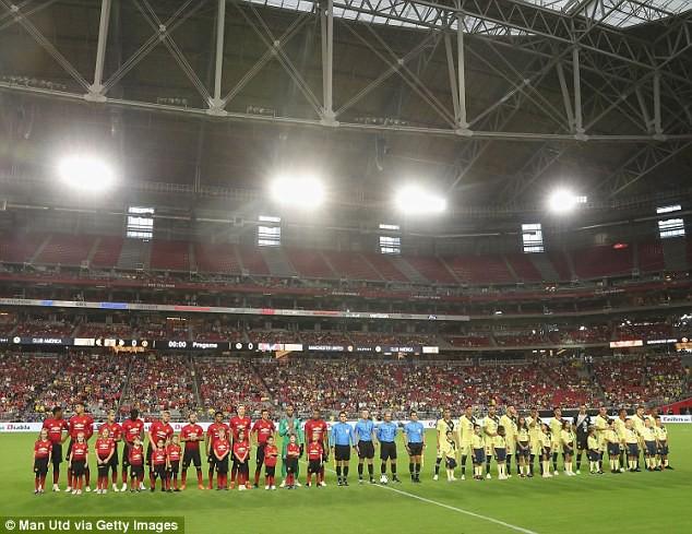 Thi đấu nhạt nhòa, Man United đón nhận con số đầy lo ngại trên đất Mỹ - Ảnh 1.