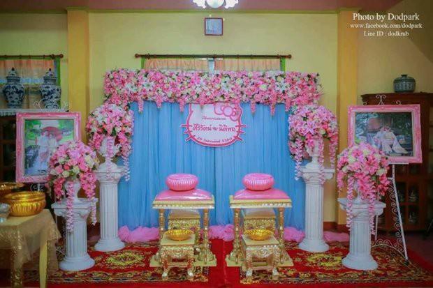 Trở về tuổi thơ với đám cưới Hello Kitty của cặp đôi 9X - Ảnh 2.