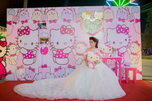 Trở về tuổi thơ với đám cưới Hello Kitty của cặp đôi 9X - Ảnh 3.