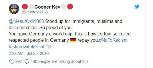Người hâm mộ thế giới phẫn nộ khi Ozil từ giã tuyển Đức trong uất nghẹn - Ảnh 2.