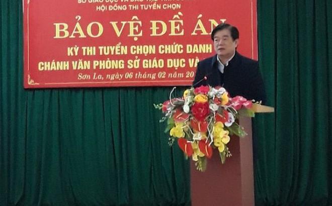 Giám đốc Sở GD-ĐT Sơn La vắng mặt khi công bố sai phạm thi vì lý do đặc biệt - Ảnh 3.