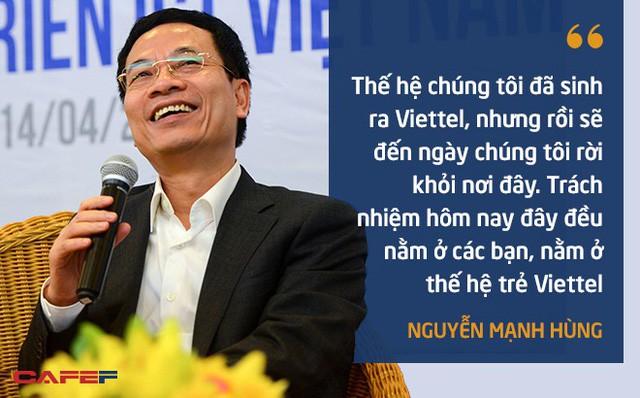 10 phát ngôn truyền cảm hứng của ông Nguyễn Mạnh Hùng dành cho giới trẻ - Ảnh 10.