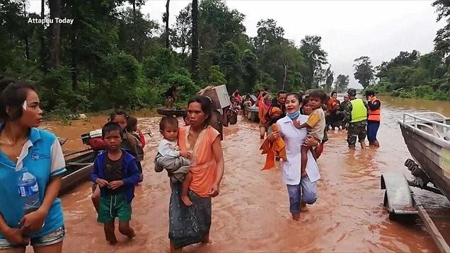 Vỡ đập thủy điện ở Lào sẽ khiến nước lũ về ĐBSCL gia tăng vào cuối tuần này - Ảnh 2.