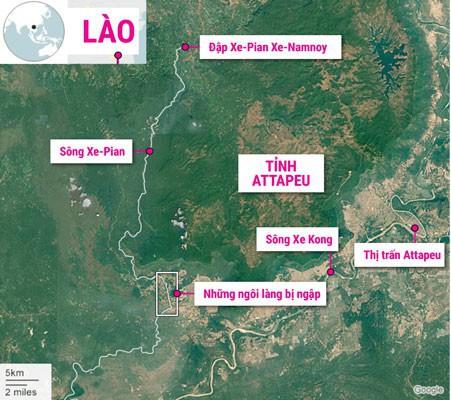 Vỡ đập ở Lào: Mực nước Tân Châu, Châu Đốc tăng 5-6 cm - Ảnh 1.