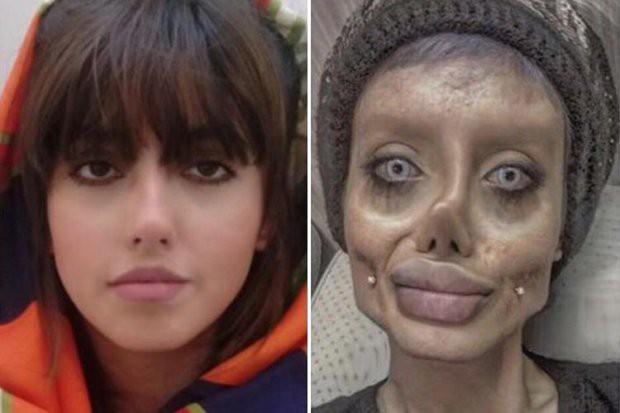 Angelina Jolie phiên bản lỗi hé lộ cách tạo gương mặt khiến nhiều người thất kinh - Ảnh 1.