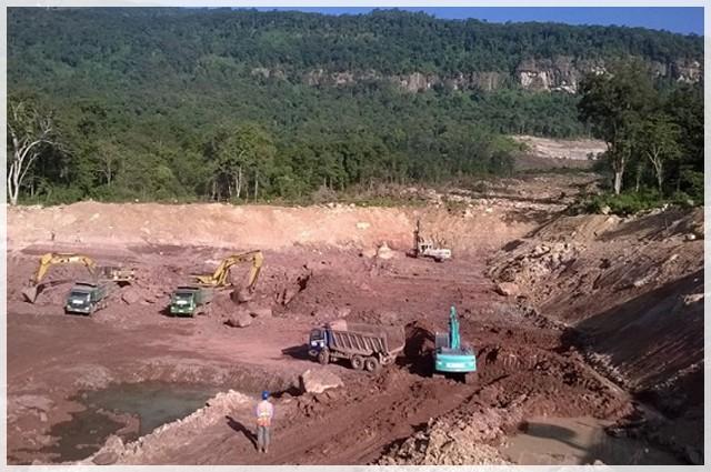 Vụ vỡ đập thủy điện ở Lào: Những hình ảnh thi công gói thầu 385 tỷ đồng của công ty VN - Ảnh 2.