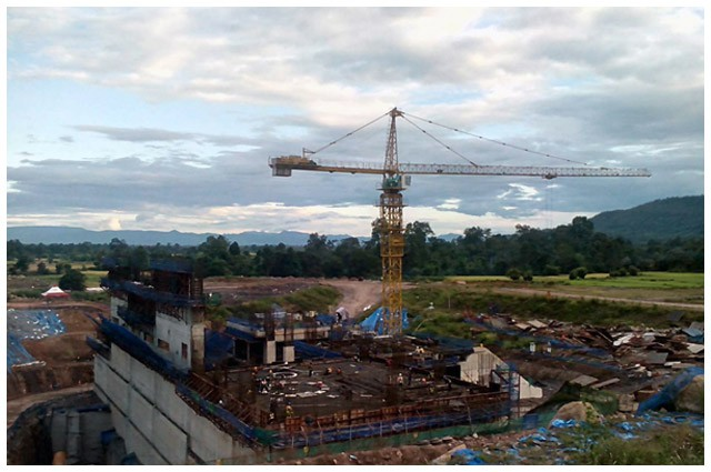 Vụ vỡ đập thủy điện ở Lào: Những hình ảnh thi công gói thầu 385 tỷ đồng của công ty VN - Ảnh 13.