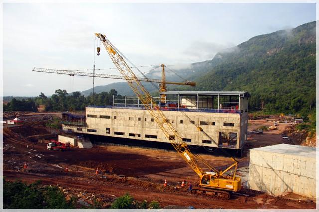 Vụ vỡ đập thủy điện ở Lào: Những hình ảnh thi công gói thầu 385 tỷ đồng của công ty VN - Ảnh 16.