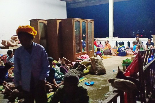 Vỡ đập thủy điện ở Lào: Trực thăng và thuyền chạy đua cứu nạn - Ảnh 4.