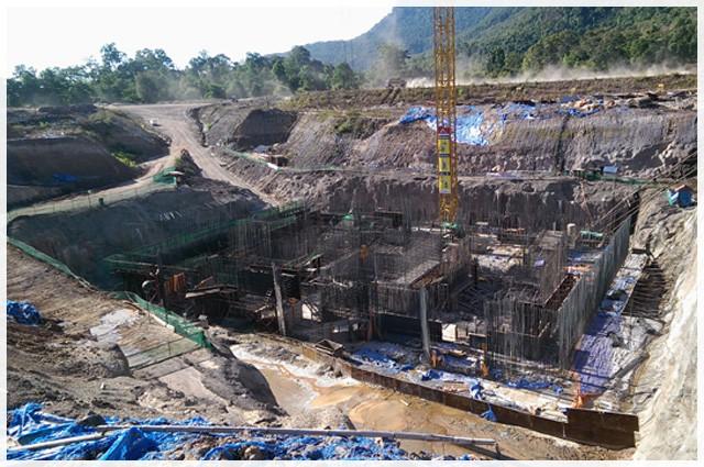 Vụ vỡ đập thủy điện ở Lào: Những hình ảnh thi công gói thầu 385 tỷ đồng của công ty VN - Ảnh 5.