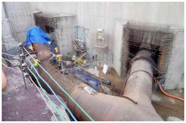 Vụ vỡ đập thủy điện ở Lào: Những hình ảnh thi công gói thầu 385 tỷ đồng của công ty VN - Ảnh 9.