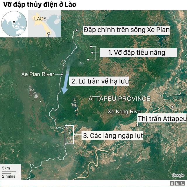 Nhà thầu Hàn Quốc thừa nhận đã phát hiện vết nứt 1 ngày trước khi vỡ đập thủy điện ở Lào - Ảnh 1.