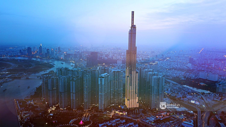 Chùm ảnh: Toàn cảnh toà nhà 81 tầng cao nhất Việt Nam trước ngày khai trương ở Sài Gòn - Ảnh 1.