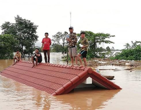 Bộ TN&MT lên tiếng vụ vỡ đập thủy điện tại Lào - Ảnh 1.