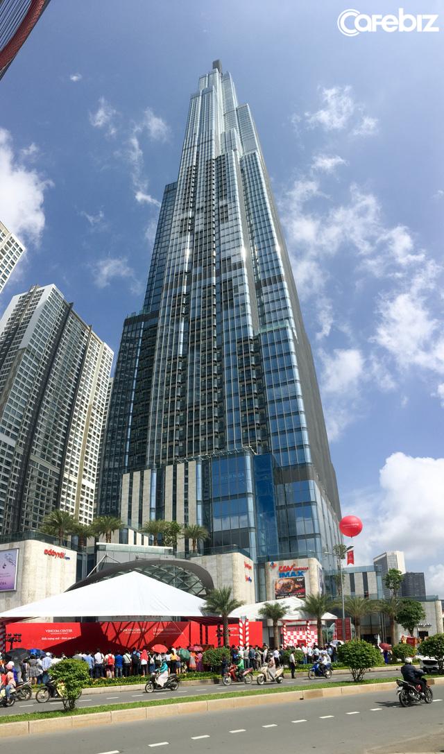 Khai trương Vincom Center Landmark 81 tại tòa nhà cao nhất Việt Nam - Ảnh 1.