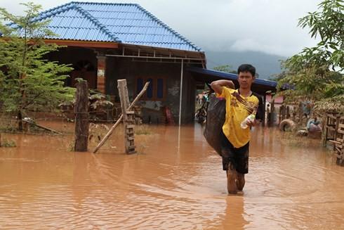 """Vỡ đập thủy điện tại Lào: """"Nước lên nhanh nên không kịp mang gì hết"""" - Ảnh 6."""