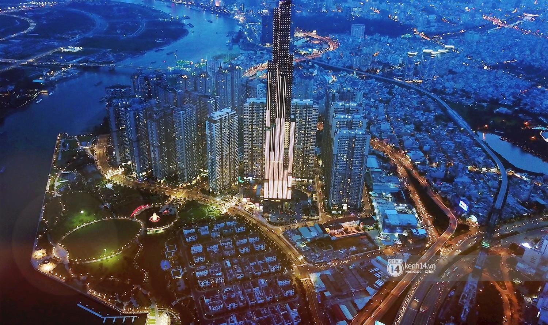 Chùm ảnh: Toàn cảnh toà nhà 81 tầng cao nhất Việt Nam trước ngày khai trương ở Sài Gòn - Ảnh 3.