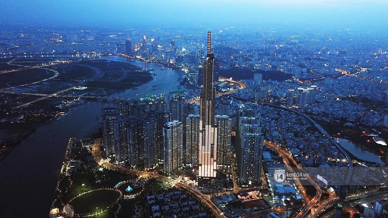 Chùm ảnh: Toàn cảnh toà nhà 81 tầng cao nhất Việt Nam trước ngày khai trương ở Sài Gòn - Ảnh 5.