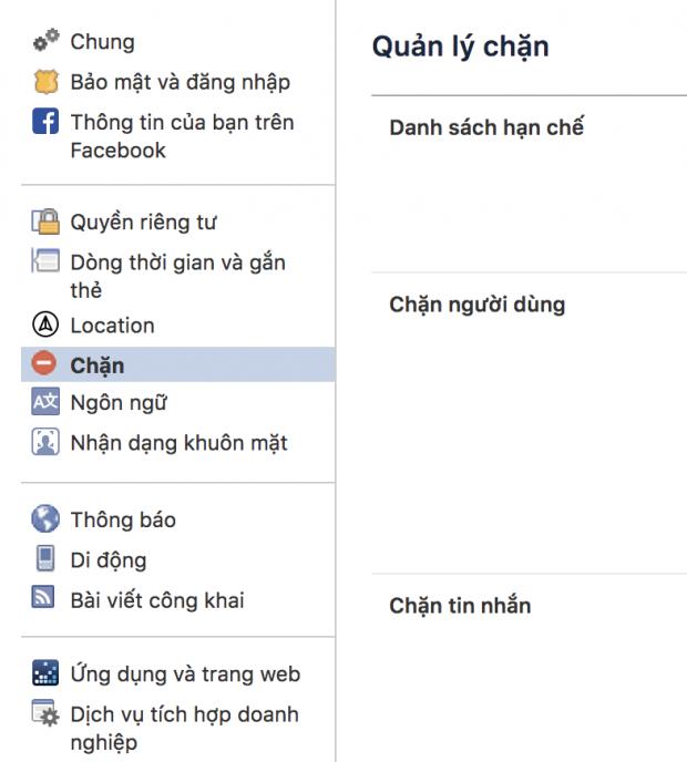 Hướng dẫn cách block lại những người đã block bạn trên Facebook - Ảnh 2.
