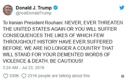 Tướng Iran: Quân tinh nhuệ hiện diện ở nơi ông Trump không ngờ tới, khao khát tử vì đạo - Ảnh 1.