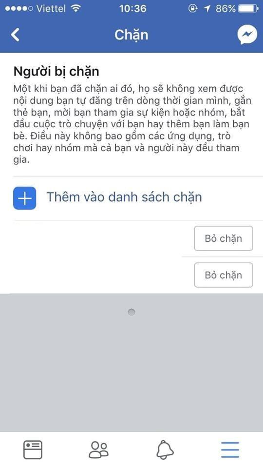 Hướng dẫn cách block lại những người đã block bạn trên Facebook - Ảnh 7.
