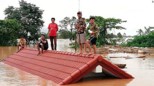 """Bộ trưởng Lào: Vỡ đập thủy điện do """"thi công kém chất lượng"""" - Ảnh 2."""