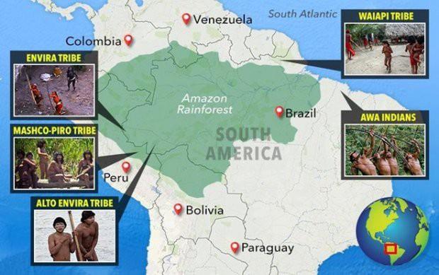 Cận cảnh cuộc sống trong rừng Amazon của các bộ lạc biệt lập với thế giới hiện đại - Ảnh 2.