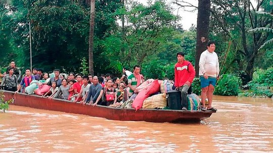 """Bộ trưởng Lào: Vỡ đập thủy điện do """"thi công kém chất lượng"""" - Ảnh 3."""