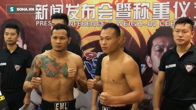 """Bị võ sĩ Thái Lan trêu ngươi, """"Quả đấm thép"""" Trung Quốc nổi cơn tam bành, cay cú thách đấu - Ảnh 2."""