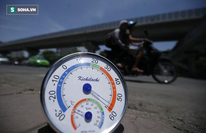 Xem dự báo thì nhiệt độ là 40 độ C, nhưng khi đo ngoài trời lại đến 45 độ C: Vì sao vậy? - Ảnh 1.