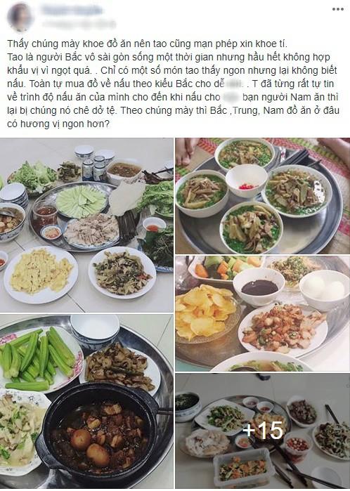 Giỏi bày vẽ đủ món ăn, tự tin nấu rất ngon nhưng cô gái miền Bắc vẫn bị người Sài Gòn chê dở tệ vì lý do này - Ảnh 1.