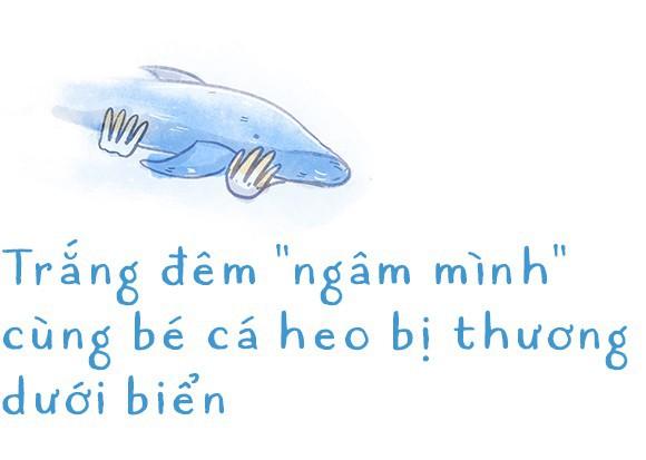 Ba ngày kỳ diệu của Lucky - Em bé cá heo bị thương trôi dạt vào bờ biển và hồi sinh nhờ những người tử tế - Ảnh 3.