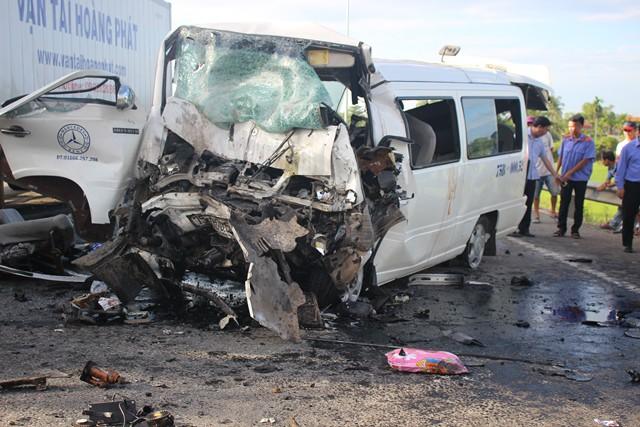 Vụ tai nạn giao thông ở Quảng Nam.