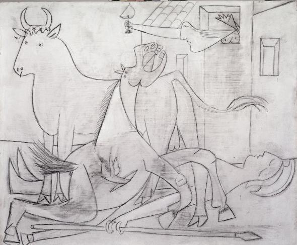 Nguồn cảm hứng khủng khiếp của Picasso sau bức tranh vĩ đại bậc nhất thế kỷ XX - Ảnh 4.