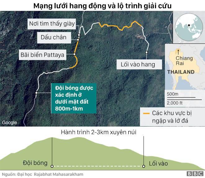 Tại sao vụ mắc kẹt ở Thái Lan còn nghiêm trọng hơn vụ sập hầm Chile năm 2010? - Ảnh 2.