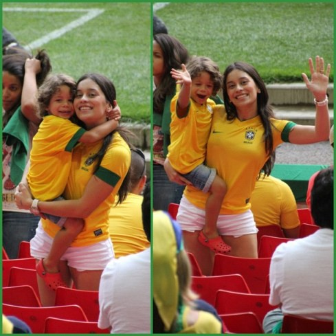 Đọ sắc dàn WAGs nóng bỏng của Brazil- Bỉ: Nhan sắc Latin áp đảo hơn hẳn - Ảnh 16.