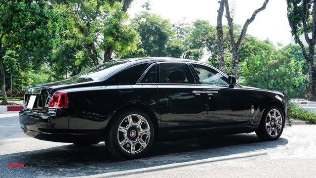 Chi tiết hãng Rolls-Royce Ghost bán lại có giá gần 11 tỷ đồng ở Hà Nội - Ảnh 5.