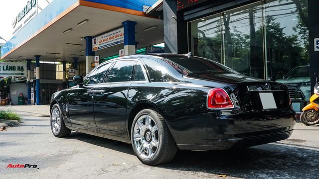 Chi tiết hãng Rolls-Royce Ghost bán lại có giá gần 11 tỷ đồng ở Hà Nội - Ảnh 6.