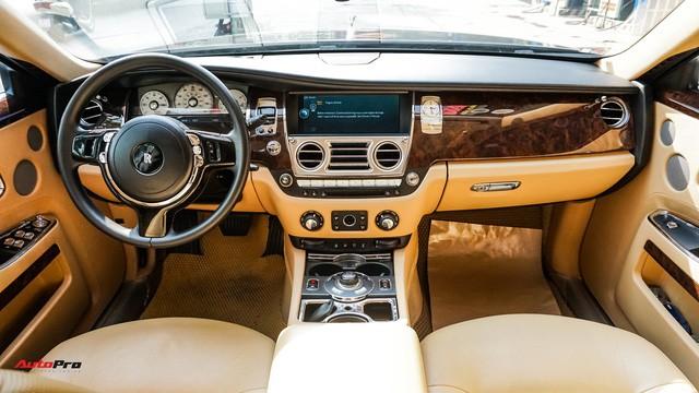 Chi tiết hãng Rolls-Royce Ghost bán lại có giá gần 11 tỷ đồng ở Hà Nội - Ảnh 7.