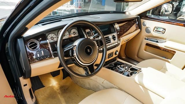 Chi tiết hãng Rolls-Royce Ghost bán lại có giá gần 11 tỷ đồng ở Hà Nội - Ảnh 9.
