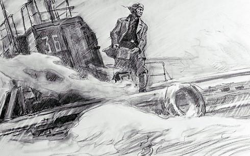 Bốn quân nhân Liên Xô trôi dạt trên biển 49 ngày giữa vòng vây cá mập - Ảnh 1.