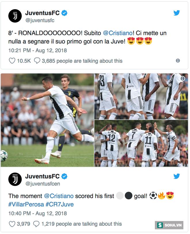 Ronaldo ghi bàn đầu cho Juve, mở lời ngôn tình khiến tifosi thêm lần tan chảy - Ảnh 2.