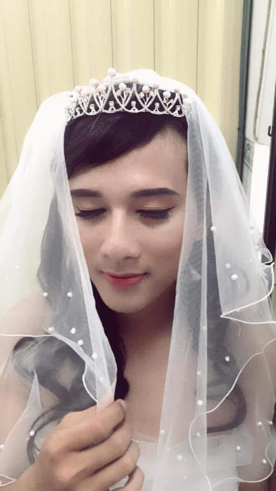 Không có tiền mời mẫu make up, cô gái hô biến chồng thành hot girl xinh đẹp - Ảnh 6.