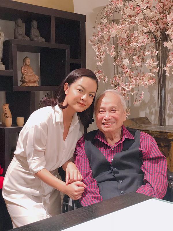 Phạm Quỳnh Anh được nhạc sĩ Lam Phương khen giọng hát hay - Ảnh 2.