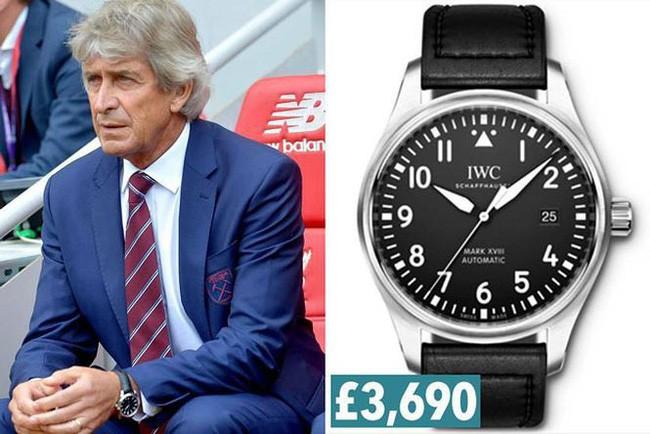 đầu tư giá trị - photo 9 15344928967301666212263 - Thú chơi đồng hồ siêu sang của giới HLV ở giải Ngoại hạng Anh