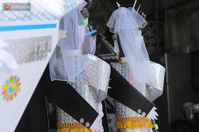 Thủ phủ vàng mã lớn nhất Hà Nội bán cô dâu, chú rể và cả osin cao cấp để đốt cho người cõi âm - Ảnh 3.