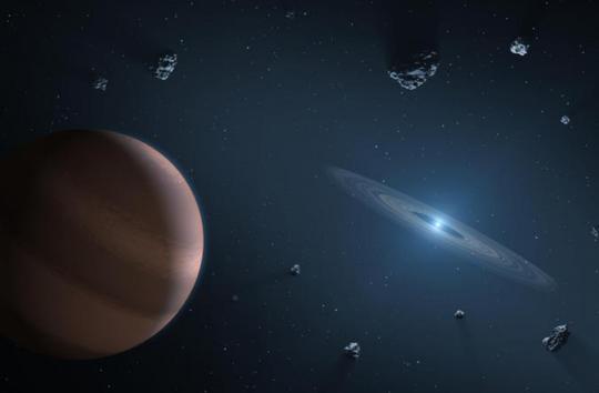 Phát hiện vật liệu trái đất ở 18 hệ thống hành tinh khác - Ảnh 1.