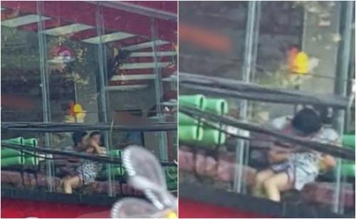 MXH lại dậy sóng vì một cặp đôi mây mưa ở ghế đá giữa đường, còn chỉ tay thách thức người chụp ảnh vì tội làm phiền - Ảnh 18.